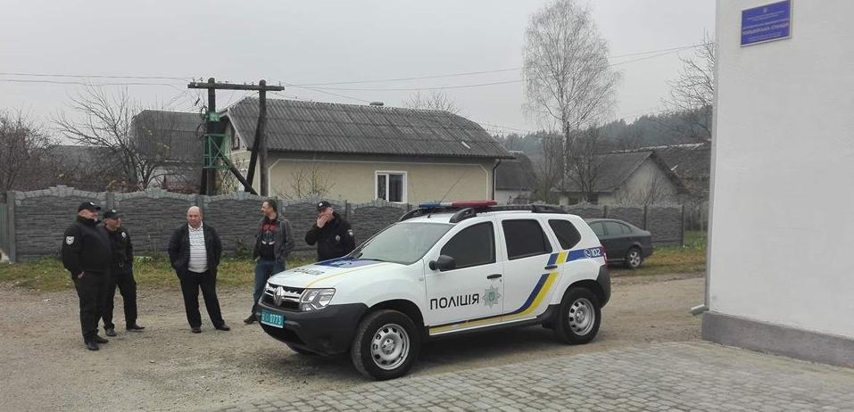 У Старобогородчанській ОТГ відкрили поліцейську станцію