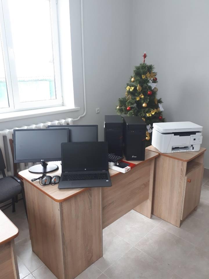 Нижньовербізька ОТГ закупила для Центру первинної медико-санітарної допомоги комп'ютерну техніку