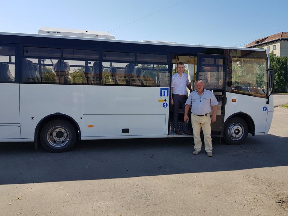 У Брошнів-Осадській ОТГ запустили безкоштовний автобус