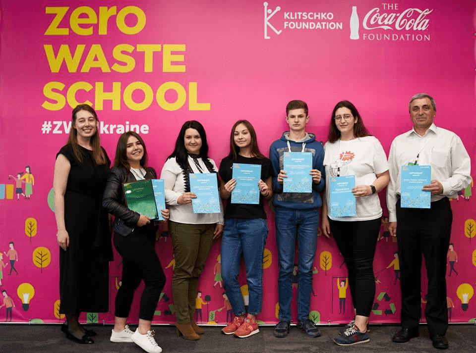 Навчальні заклади двох прикарпатських ОТГ стали переможцями проєкту Zero Waste School 2019