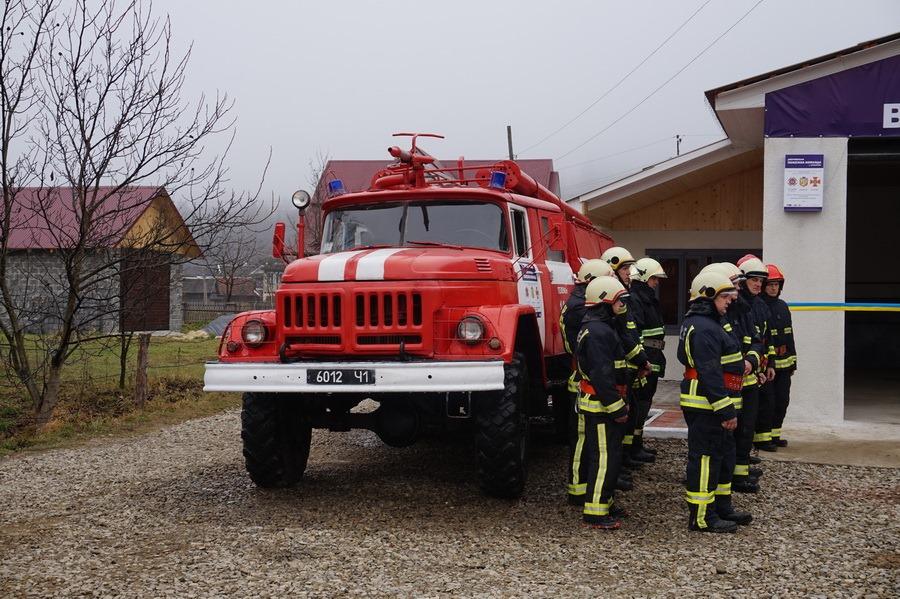 В Космацькій громаді запрацювала добровільна пожежна ...