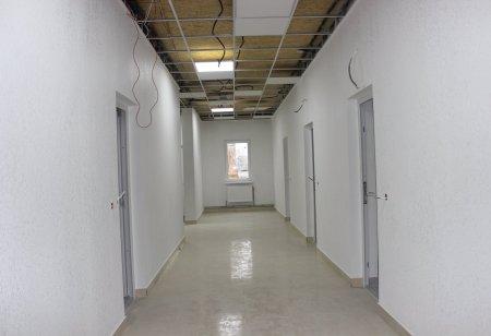 У Печеніжині продовжується будівництво амбулаторії групової практики сімейної медицини.