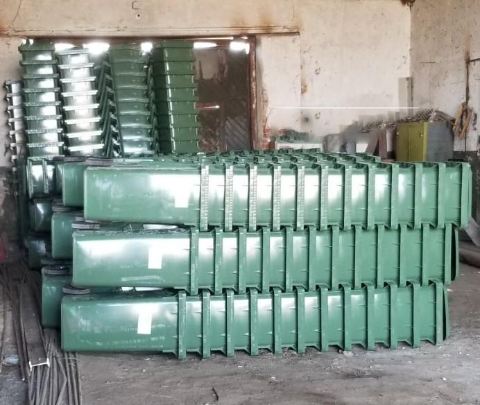 Нижньовербізька ОТГ придбала 454 контейнери для ...