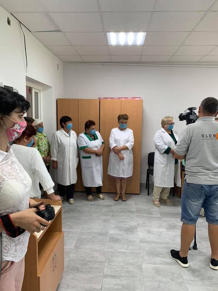 Відкрився оновлений ФАП Калуського центру ПМСД