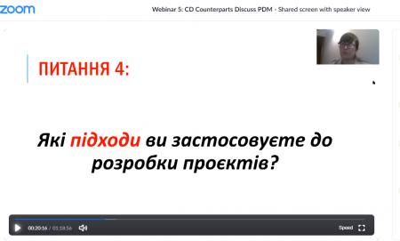 Експерт ІФ РВ АМУ Діана Торконяк ділилася досвідом з проєктного менеджменту