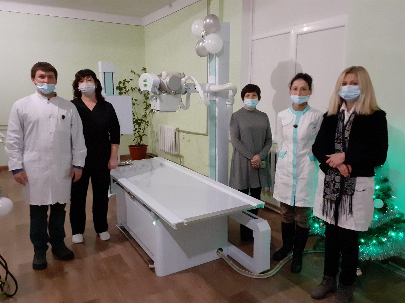Для Рожнятівської ЦРЛ придбали рентген