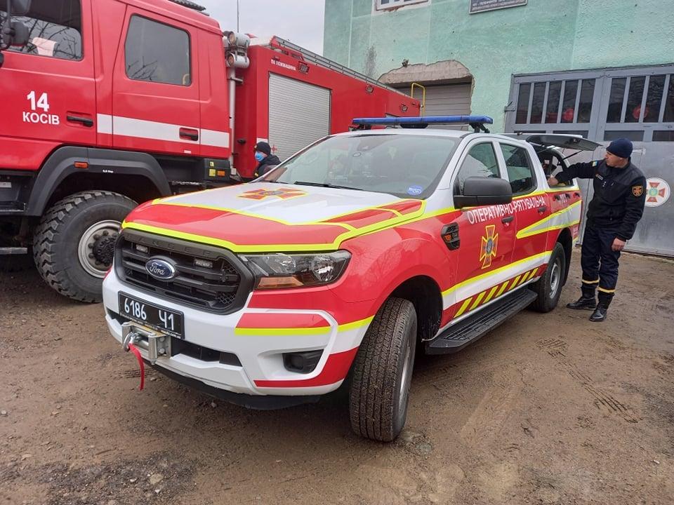 Косівське відділення ДСНС отримало спеціальну аварійно-рятувальну ...
