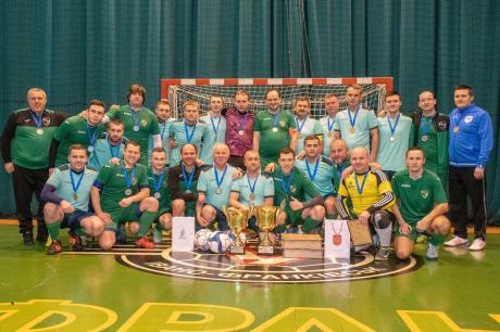 Команда Городенки - переможець Кубка Соборності серед міських рад