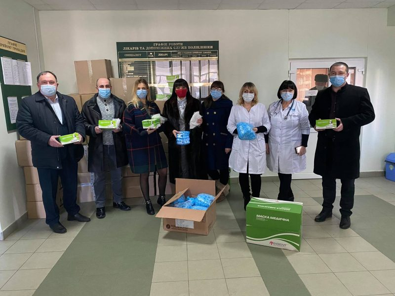 Тисменицька міська лікарня отримала допомогу на ...