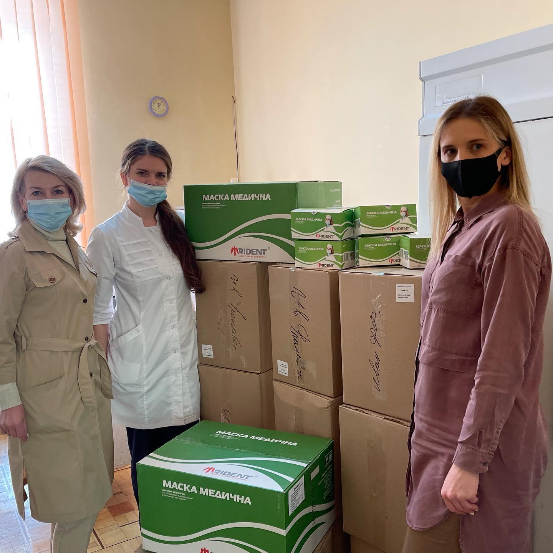 Івано-Франківська  обласна дитяча клінічна лікарня в черговий раз отримала допомогу