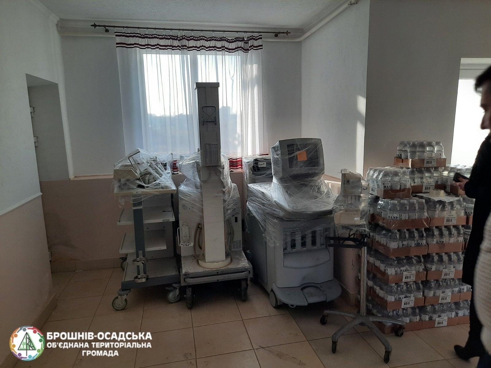 Брошнів-Осадську міську лікарню Брошнів-Осадської територіальної громади ...