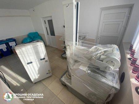 Брошнів-Осадську міську лікарню Брошнів-Осадської територіальної громади поповнили сучасним медичним устаткуванням